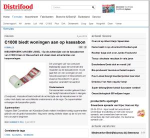 Distrifood - C1000 biedt woningen aan op kassabon - 3-6-2014 - www.KassabonDeals.nl