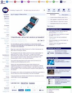 NU - Uitzendbureau valt op met vacature op kassabon - 13-8-2015 - www.kassabondeals.nl