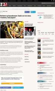 Z24 - Reclame op kassabonnen Dank u en tot ziens. Trouwens huis kopen - 3-6-2014 - www.KassabonDeals.nl
