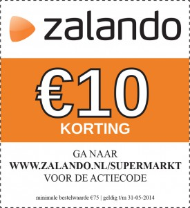 Zalando KassabonDeals Advertentie