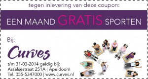 Advertentie Kassabon Curves